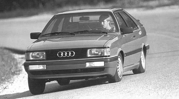 download AUDI COUPE GT workshop manual