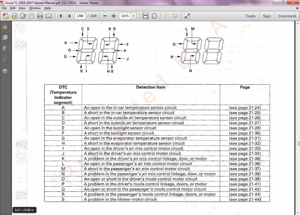 download Acura RL workshop manual