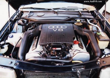 download Audi V8 Quattro workshop manual