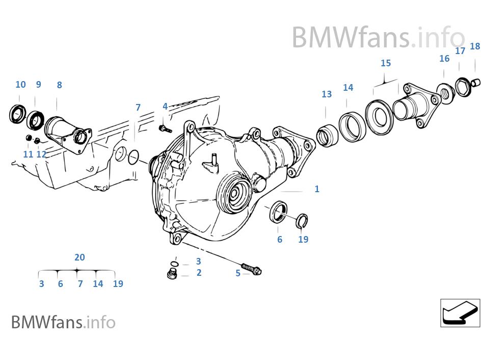download BMW 5 E34 workshop manual
