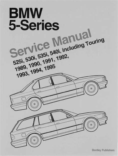 download BMW 5 E39 5251 5281 530i 540i Sedan Sport Wagon workshop manual