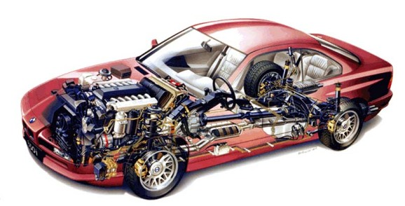 download BMW E31 850i 840i M70 training workshop manual