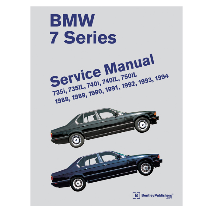 download Bentley BMW 7 workshop manual