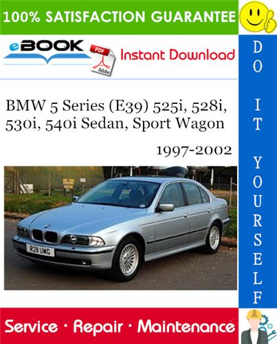 download Bmw 5 E39 525i Sedan workshop manual