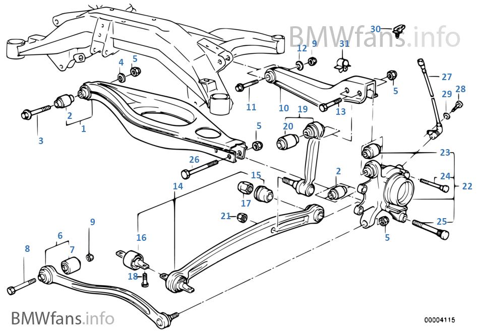download Bmw 8 E31 workshop manual