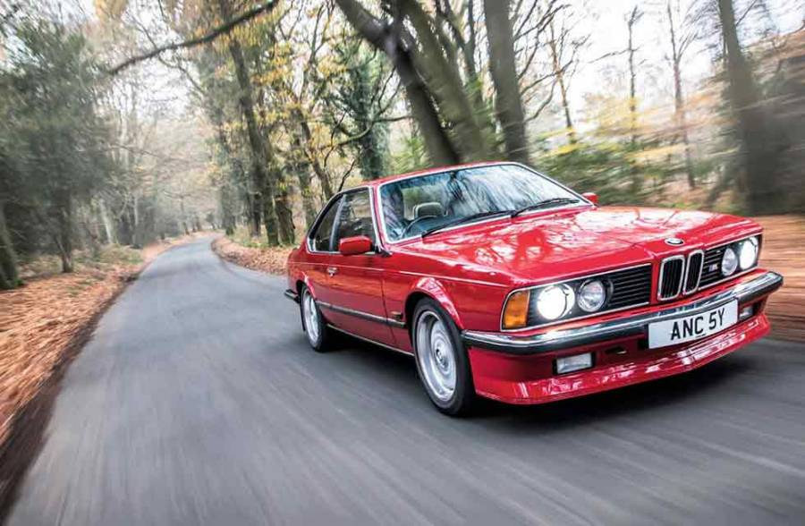 download Bmw M635 CSI workshop manual