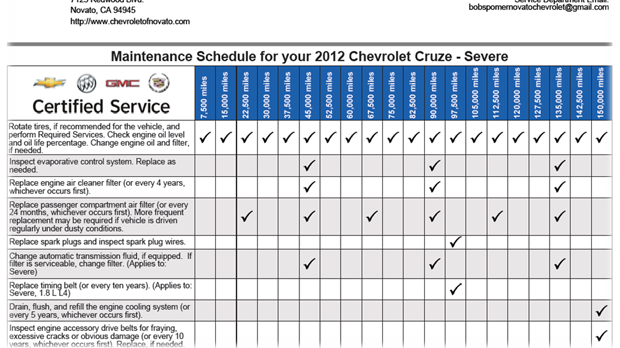 download CHEVOLET CHEVY workshop manual