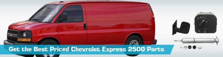 download CHEVY CHEVROLET Express Van workshop manual