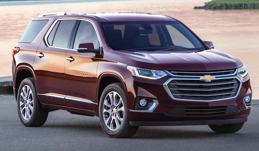 download CHEVY CHEVROLET Traverse workshop manual
