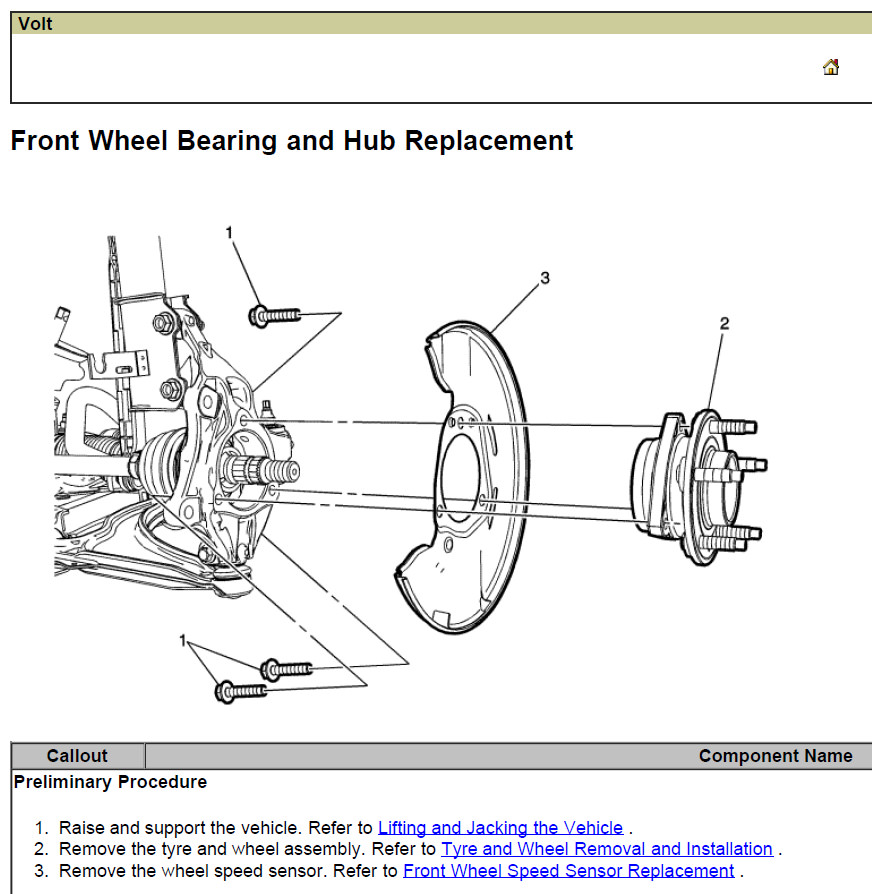 download CHEVY CHEVROLET Volt workshop manual