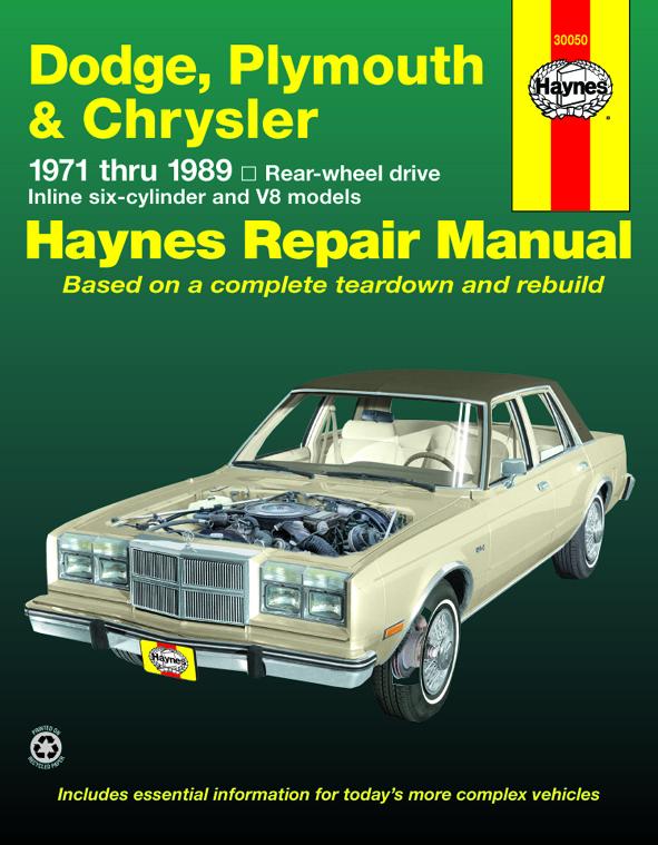 download CHRYSLER FIFTH AVENUE workshop manual