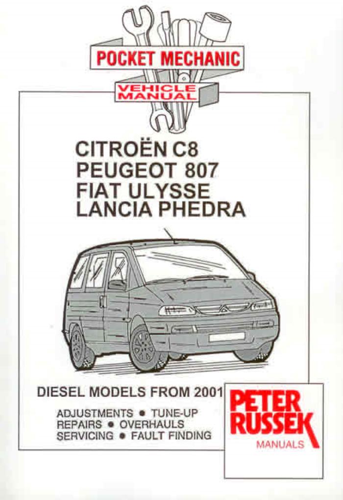 download CITROEN C8 workshop manual
