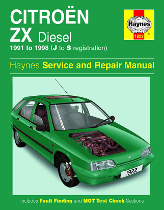 download CITROEN ZX workshop manual