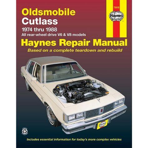 download CUTLASS CIERAModels workshop manual