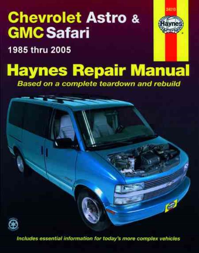 download Chevrolet Astro workshop manual