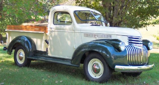 download Chevrolet Chevy 1946 Truck workshop manual