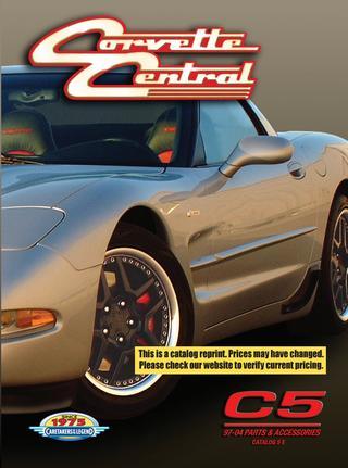 download Chevrolet Corvette C5 5.7L Parts workshop manual