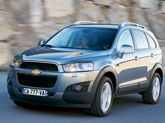 download Chevy Captiva workshop manual