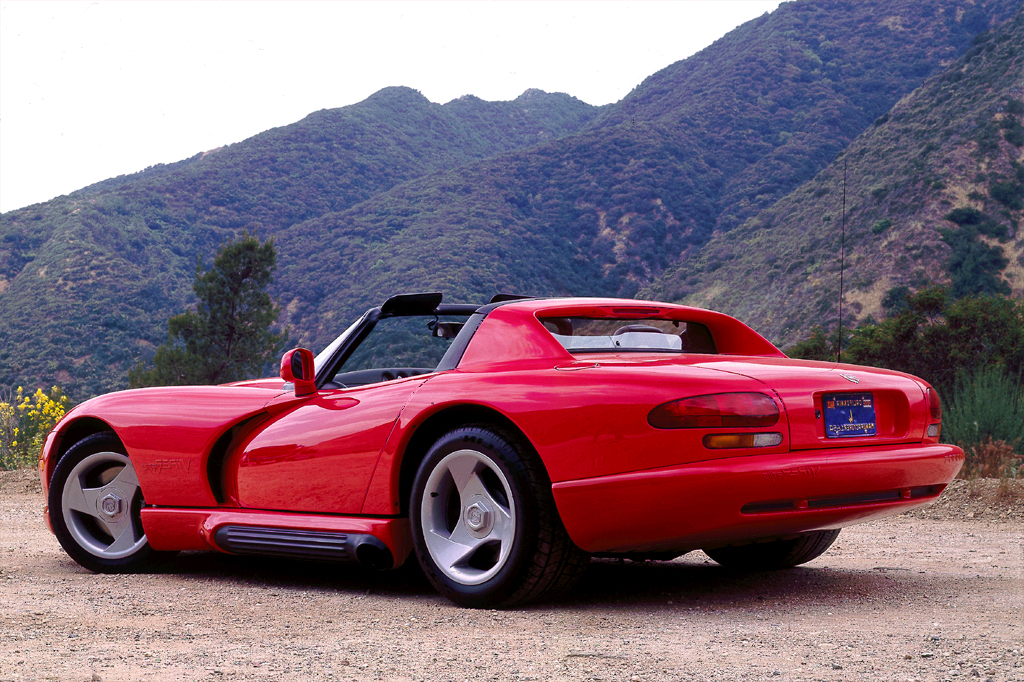 download Chrysler SR Viper Convertible Coupe workshop manual