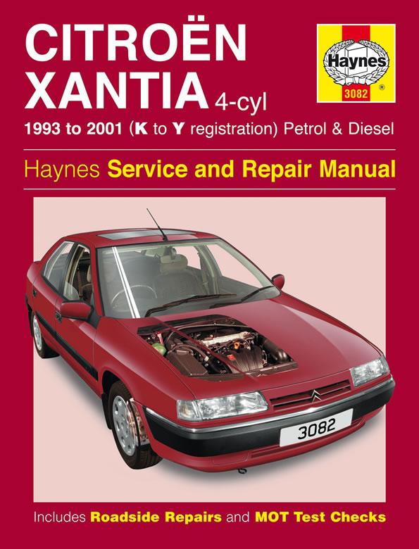download Citroen Xantia workshop manual