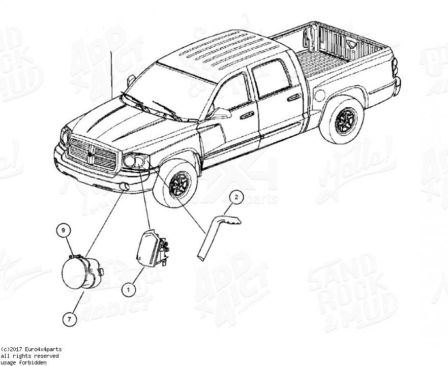 download DODGE DAKOTA Parts workshop manual