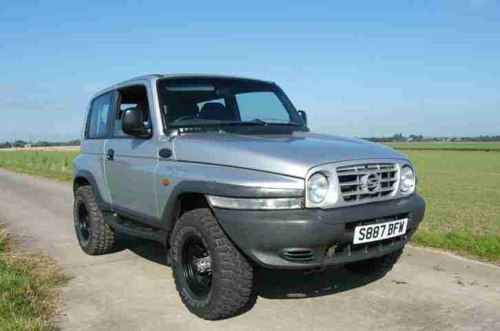 download Daewoo Korando workshop manual
