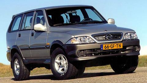 download Daewoo Musso SsangYong Musso workshop manual
