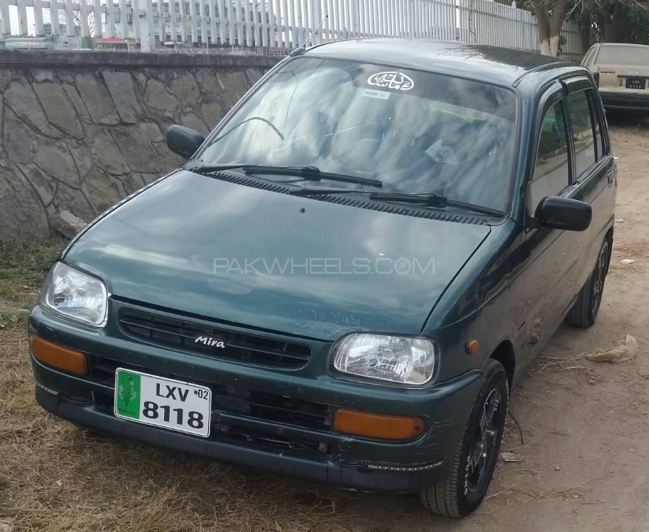 download Daihatsu Cuore Mira workshop manual