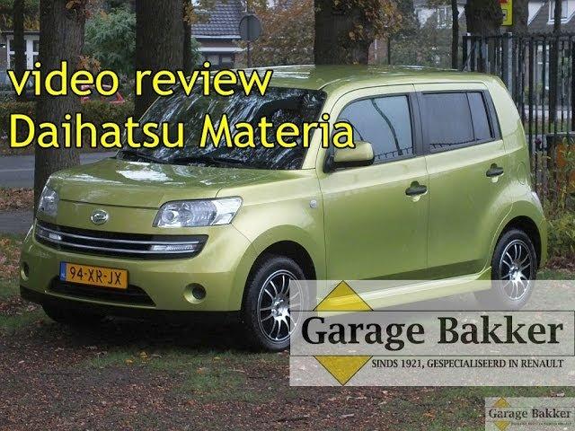 download Daihatsu Materia workshop manual