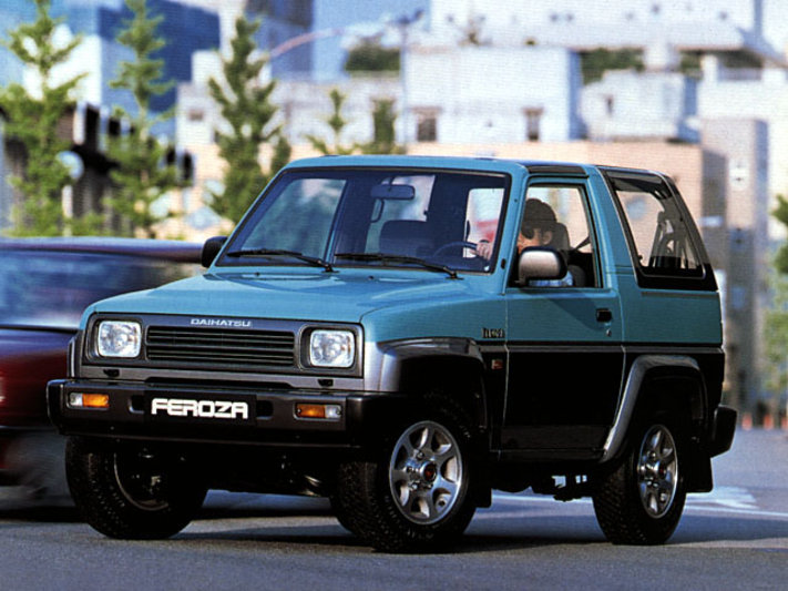 download Daihatsu Sportrak workshop manual