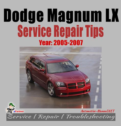 download Dodge Magnum LX Reapir workshop manual