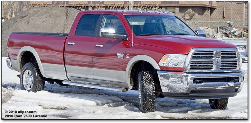 download Dodge Ram Pickup 2500 4X4 workshop manual