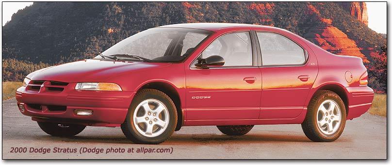 download Dodge Stratus Chrysler Cirrus Plymouth Breeze workshop manual