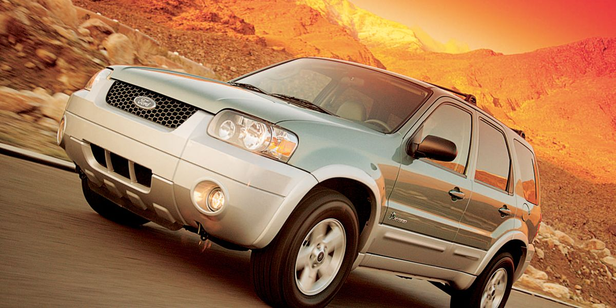 download FORD ESCAPE HYBRID workshop manual