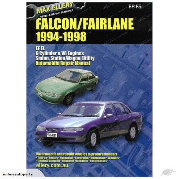 download FORD FALCON EF EL FAIRLANE NF NL DF DL workshop manual