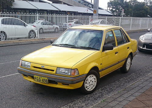download FORD LASER KL KM B6 BP Engine workshop manual