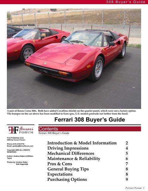download FERRARI 308QV 328 workshop manual
