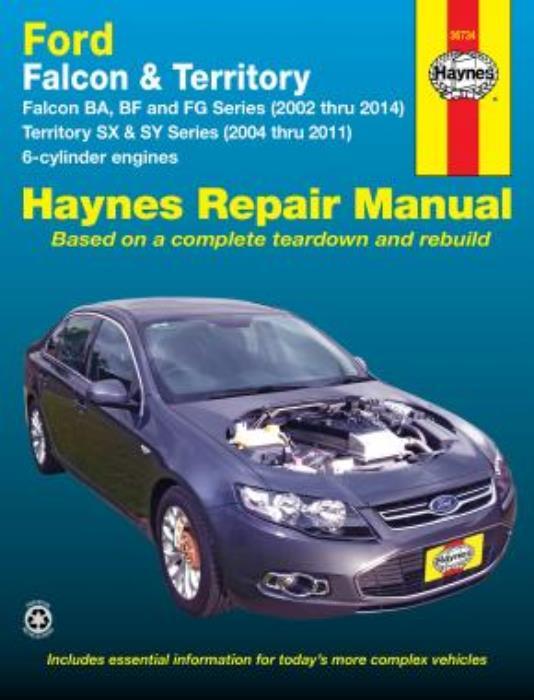 download Ford BA Falcon workshop manual