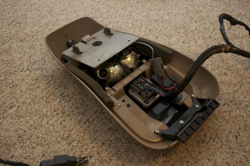 download Ford Explorer Sport 2 dr Overhead Console workshop manual