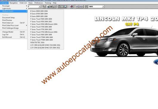 download Ford MKT workshop manual