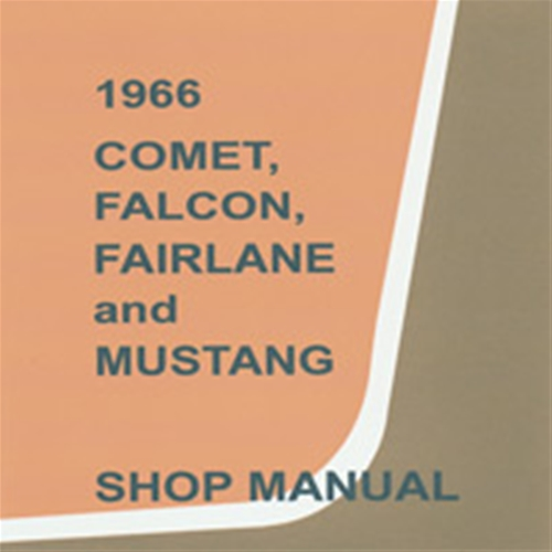 download Ford mustang comet fairlane mercury workshop manual