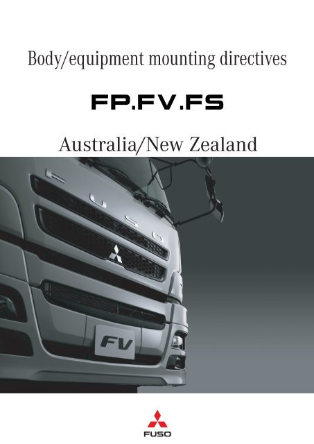 download Fuso Fighter FP FS FV workshop manual