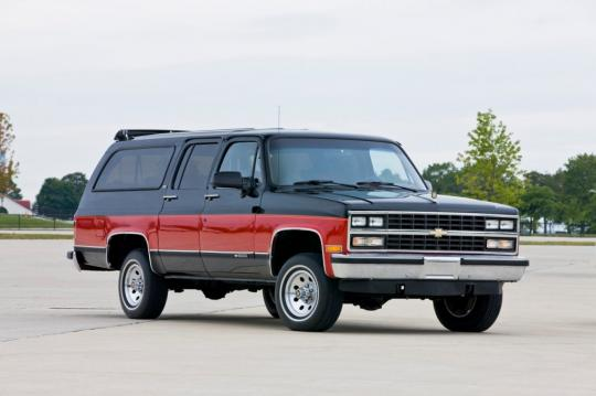 download GMC R2500 Suburban workshop manual