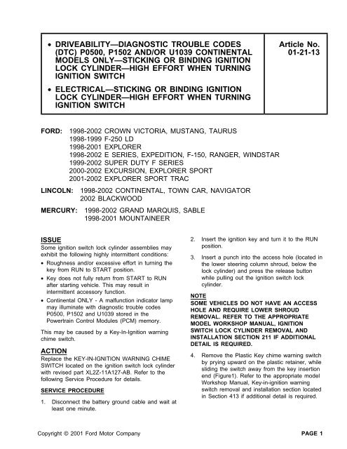 download GRand MARQUIS workshop manual