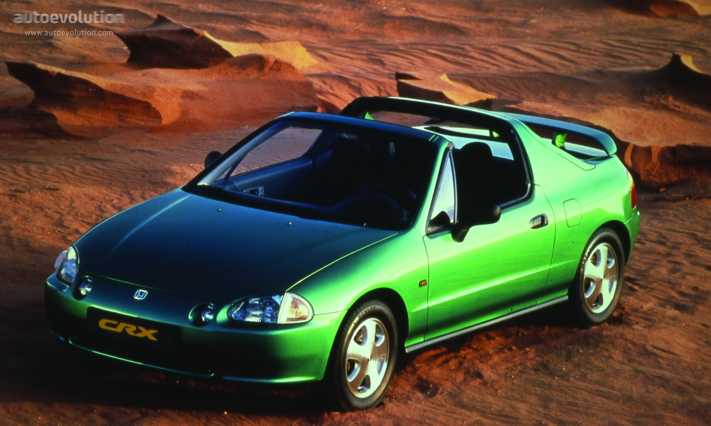 download HONDA CR X DEL SOL 92 95 workshop manual