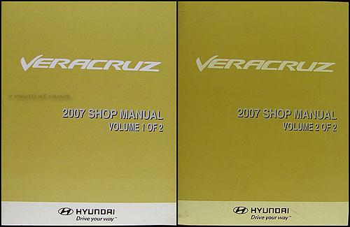 download HYUNDAI VERACRUZ workshop manual
