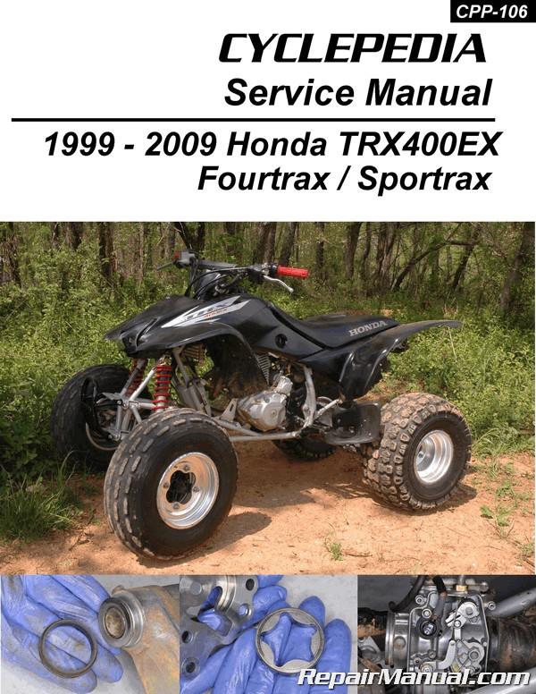 Honda TRX400EX ATV Front Brake Pads 1999-2000