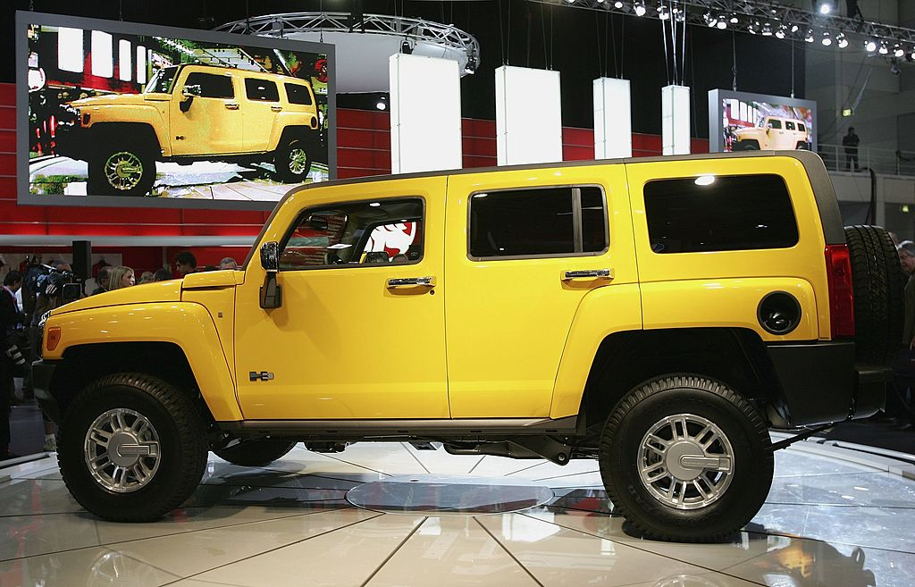 download Hummer H3 workshop manual