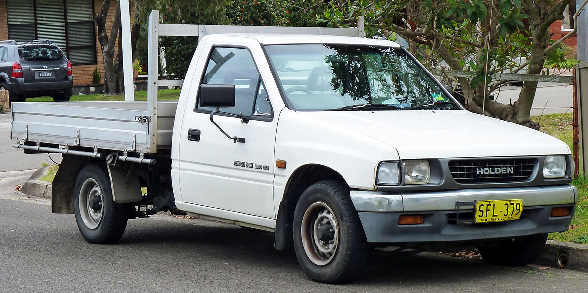 download ISUZU HOLDEN RODEO KB KB TF140 workshop manual