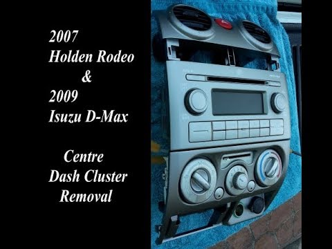 download ISUZU HOLDEN RODEO workshop manual